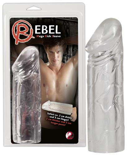 Насадка Rebel mega dick sleeve
