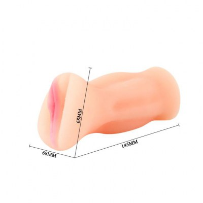 Вагина-мастурбатор men's masturbator toy, tighten, shrink, tpr